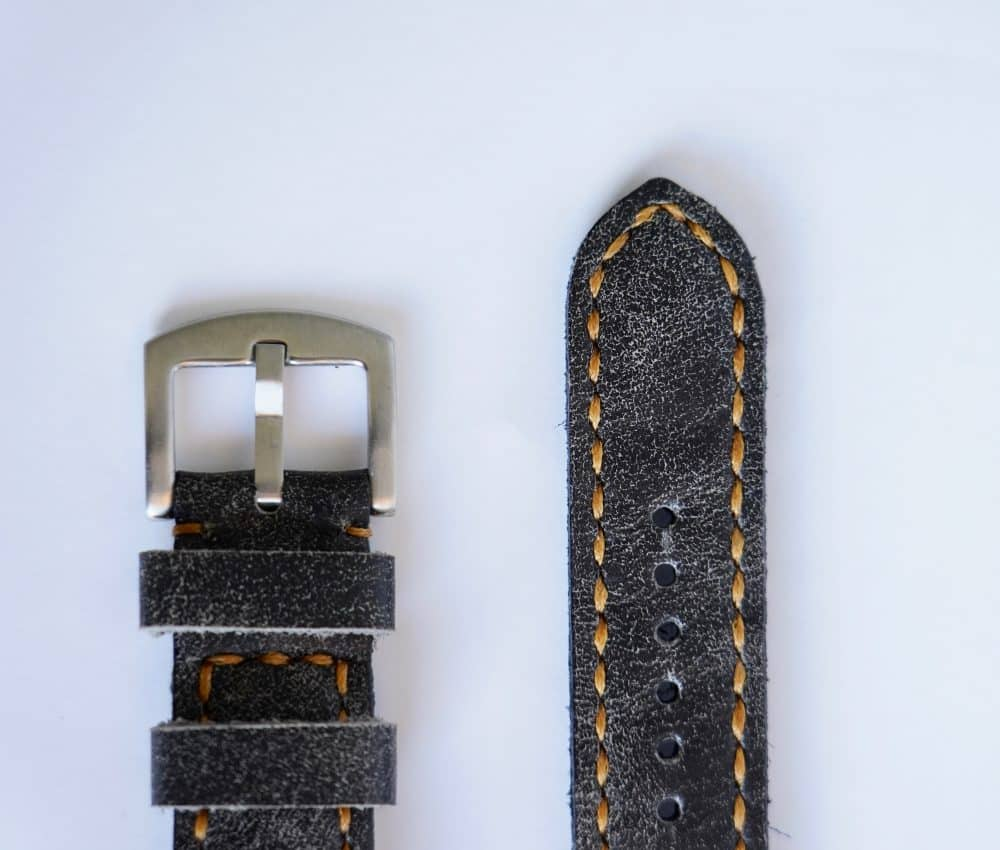 Martu Leather Vintage håndlaget klokkereim.