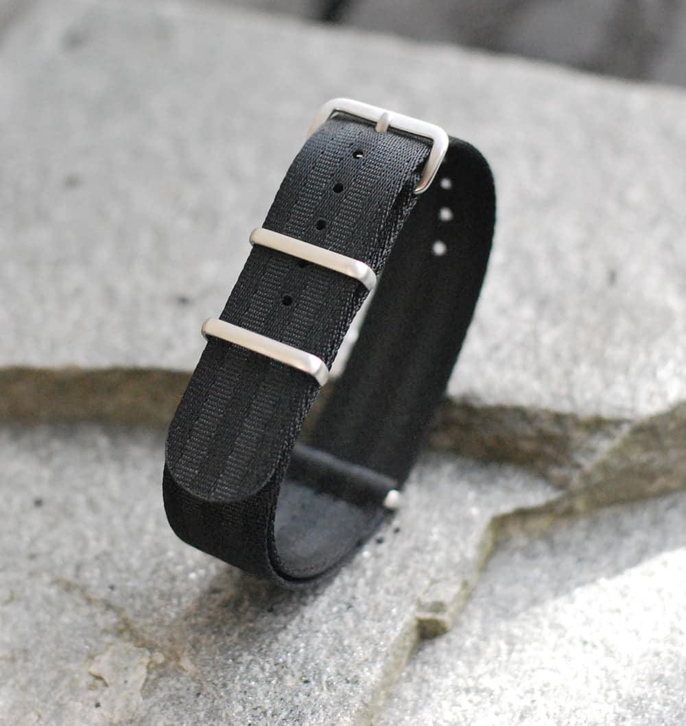 Seatbelt natoreim, stealth bond – Cincy Strap Works